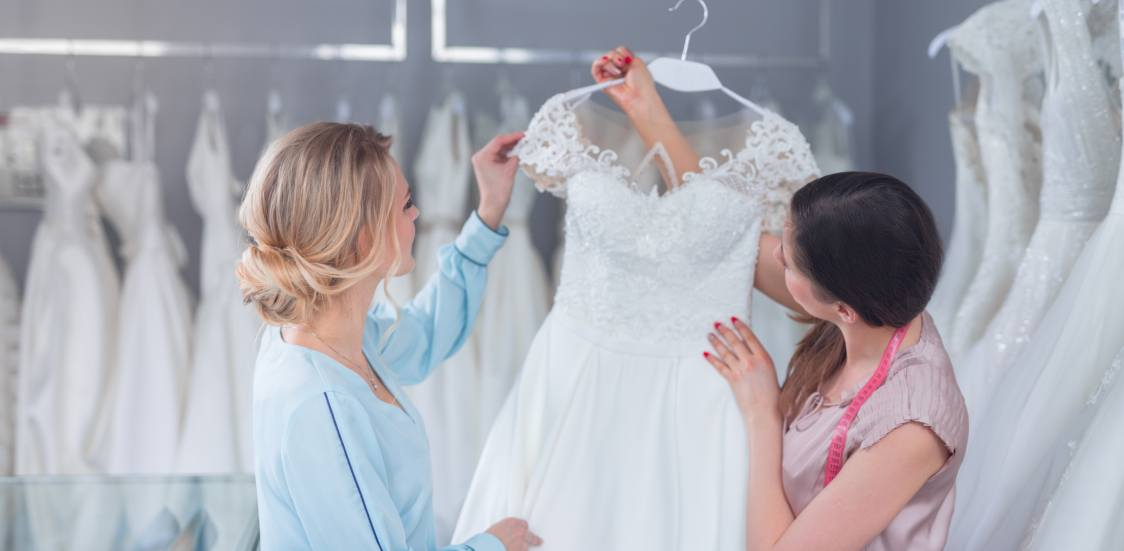 Your Wedding Dress Is A Symbol Of The Event That Comes Once In A Life