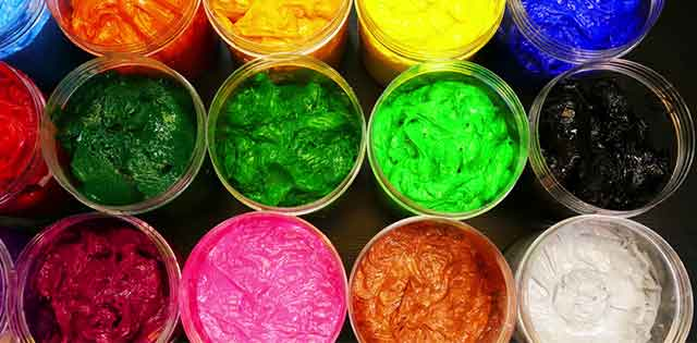 The Most Common Color That Used In Screen Printing